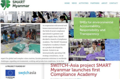 Supply Chain Development im Rahmen des SMART Myanmar Programms der EU